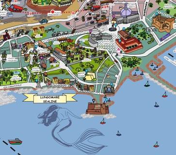 napoli centro storico mappa